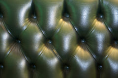 tillbaka chesterfield sofa Arkivbilder