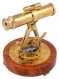 tillbaka dekorativ sikt för astrolabium Royaltyfri Bild