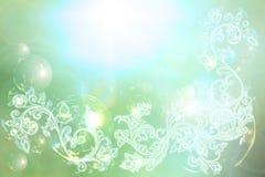 tillbaka elegantt shinny swirl Royaltyfri Illustrationer