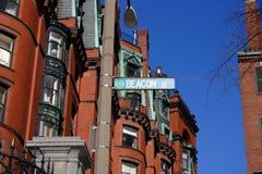 Tillbaka fjärd, Boston arkivbild