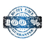 tillbaka guaranteepengar Arkivfoto