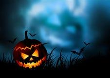 tillbaka halloween Royaltyfri Fotografi