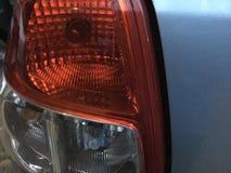 Tillbaka lampa för bil Royaltyfria Foton