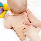 tillbaka massage Royaltyfria Bilder