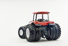 tillbaka model modern traktor Royaltyfri Bild