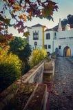 Tillbaka Sintra slott Royaltyfria Bilder