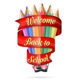 tillbaka skola som ska välkomnas Royaltyfri Fotografi