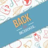 tillbaka skola som ska välkomnas Royaltyfria Bilder