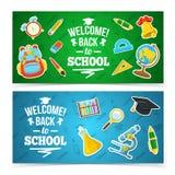 tillbaka skola som ska välkomnas Royaltyfri Bild