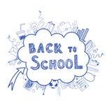 tillbaka skola som ska välkomnas Arkivbild