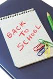 tillbaka skola till Royaltyfri Foto