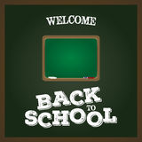 tillbaka skola till Royaltyfri Bild