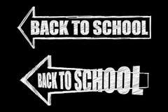 tillbaka skola till Royaltyfria Bilder