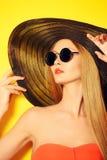Tillbaka solglasögon Fotografering för Bildbyråer