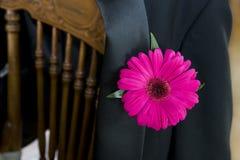 tillbaka stolsomslagssmoking Fotografering för Bildbyråer