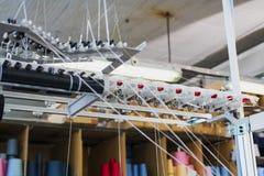 Tillbakaspolningsutrustning på handarbete shoppar sikt arkivfoton