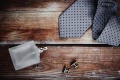 Tillbehör för mode för man` s arkivbild