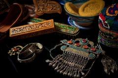 tillbehör, smycken och andra objekt Royaltyfria Foton