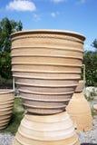 Tillbringare i en keramikers seminarium. Ö av Kreta Royaltyfria Bilder