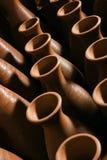 Tillbringare som göras av lera Arkivfoton