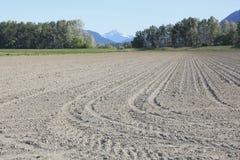 Tilled Agricultural Farm Land Stock Photos