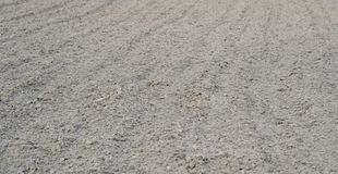 Tilled soil. Close view of tilled soil ready for sowing Royalty Free Stock Photo
