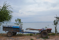 Tiller dla ściany behind Tajlandia Zdjęcie Stock