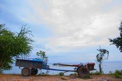 Tiller for wall behind of Thailand. Tiller for farmer wall behind of Thailand Royalty Free Stock Images