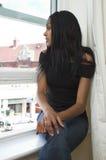 tillfällig flicka Royaltyfri Fotografi