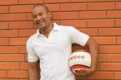 tillfällig fotboll Fotografering för Bildbyråer
