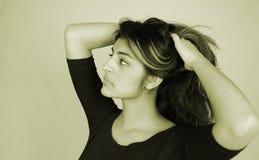 tillfällig kvinna 10 fotografering för bildbyråer