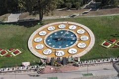 Tillfällig minnesmärke på den Maydan Nezalezhnosti fyrkanten i Kiev, Ukraina Royaltyfri Fotografi