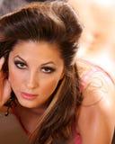 tillfällig sexig kvinna Fotografering för Bildbyråer