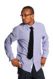 tillfälliga kläder för affärsman Arkivbild