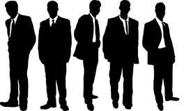 tillfälliga män för affär Arkivbild