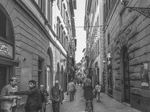 Tillfälligt dagliv i Florence fotografering för bildbyråer