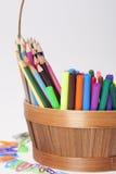 Tillförsel för skola för barn` s Arkivbild