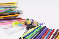 Tillförsel för skola för barn` s Arkivfoton