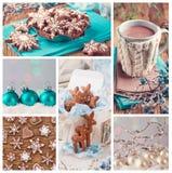 tillgänglig julcollagevektor Fotografering för Bildbyråer