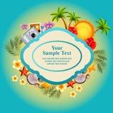tillgänglig sommar för korteps-mapp Arkivfoton