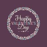 tillgänglig vektor för valentiner för kortdagmapp Arkivfoton