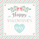tillgänglig vektor för valentiner för kortdagmapp Arkivfoto