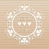 tillgänglig vektor för valentiner för kortdagmapp Arkivbilder