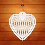 tillgänglig vektor för valentiner för kortdagmapp Royaltyfri Bild