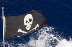 tillgängligt flaggaexponeringsglas piratkopierar stilvektorn Arkivbilder