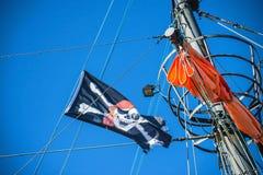 tillgängligt flaggaexponeringsglas piratkopierar stilvektorn Royaltyfria Bilder
