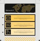tillgängligt formaterar båda eps8 jpeg-mallwebsite Royaltyfria Foton