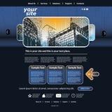 tillgängligt formaterar båda eps8 jpeg-mallwebsite Arkivfoto