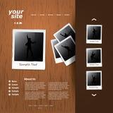 tillgängligt formaterar båda eps8 jpeg-mallwebsite Arkivfoton
