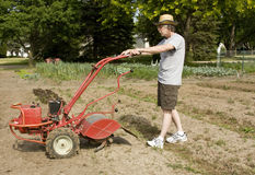 Tilling garden Stock Photography